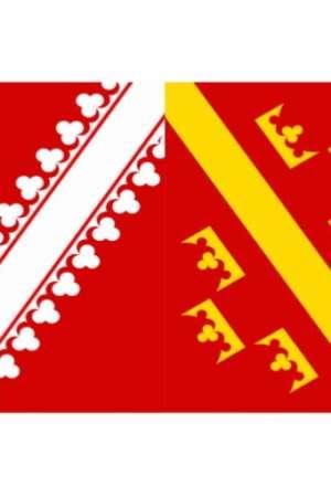 Drapeau d'Alsace 30×45