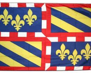 Drapeau de Bourgogne 60×90