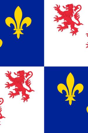 Drapeau de Picardie 90×150