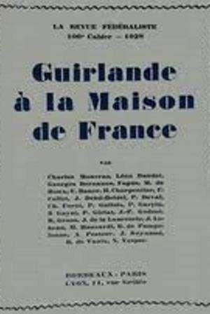 Guirlande à la Maison de France