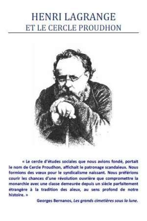 Henri Lagrange et le Cercle Proudhon