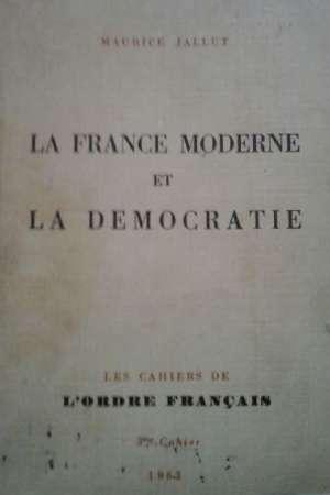 La France moderne et la démocratie