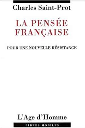 La Pensée Française