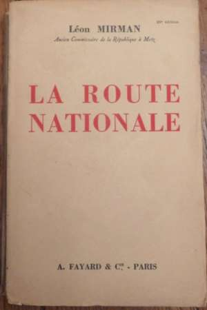 La route nationale