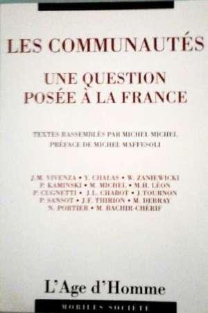 Les communautés une question posée à la France