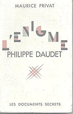 L'énigme Philippe Daudet