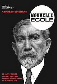 Nouvelle école N°66 :  Charles Maurras