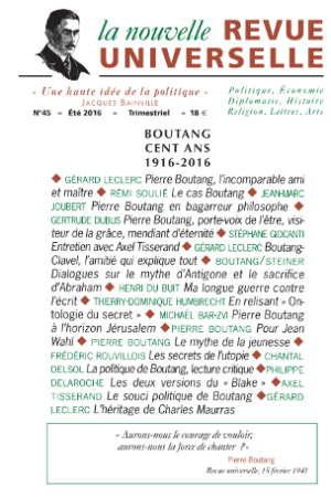 La nouvelle Revue Universelle n°45
