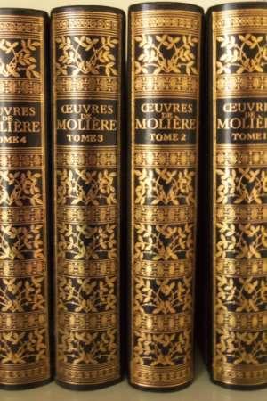 Oeuvres de Molière (Tomes 1,2,3,4)