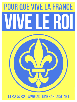 Affiche Pour que Vive la France, Vive le Roi