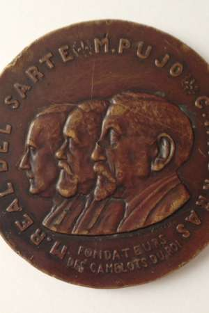 Médaille Real del Sarte, Pujo, Maurras