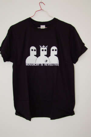 Tee shirt Monarchy IS Revolution
