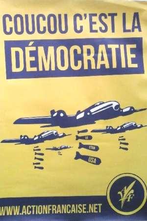 Affiche Coucou c'est la démocratie
