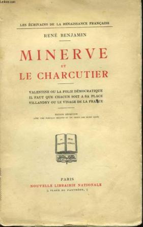 Minerve et le charcutier