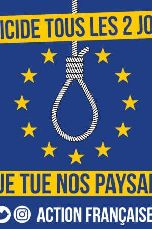 L'UE tue nos paysans – 50 exemplaires
