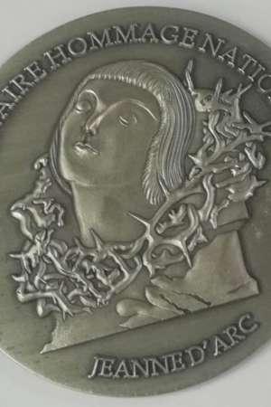 Médaille centenaire hommage national à Jeanne d'Arc