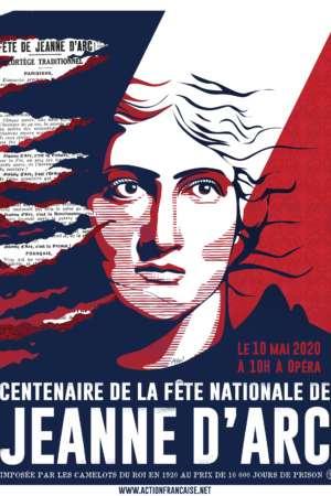 Affiche de soutien Jeanne 2020