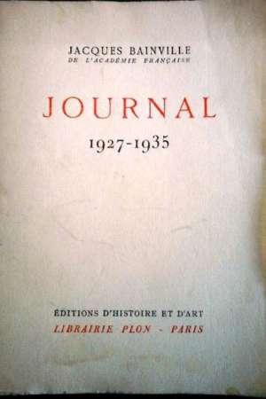 Journal – 1927-1935