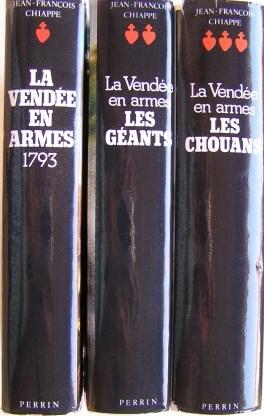 La Vendée en armes – 3 tomes