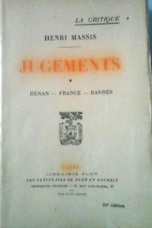 Jugements – tome 1