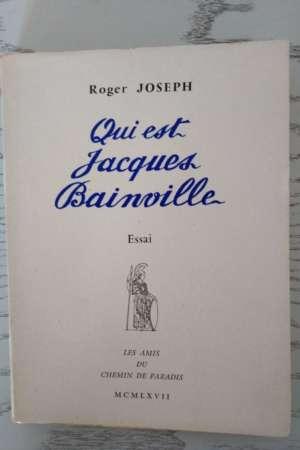 Qui est Jacques Bainville