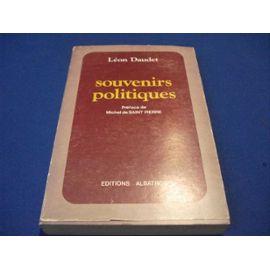 Souvenirs politiques