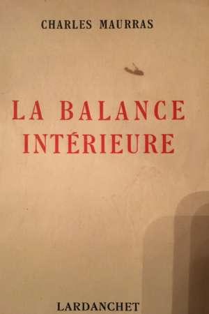 La balance intérieure
