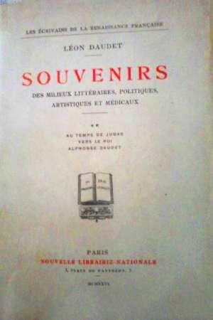 Souvenirs des milieux littéraires, politiques…