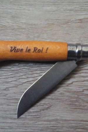 Opinel «Vive le Roi !»