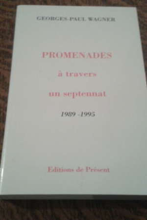 PROMENADES à travers un septennat 1989-1995