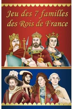 Jeu des 7 familles des rois de France