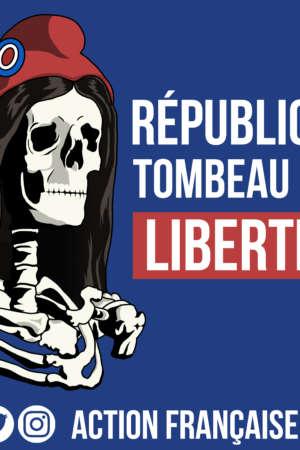 République tombeau des libertés – 50 exemplaires
