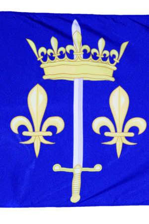 Drapeau Jeanne d'Arc 90×150 cm