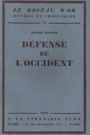 Défense de l'Occident