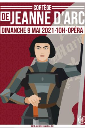 Affiche de soutien Jeanne 2021