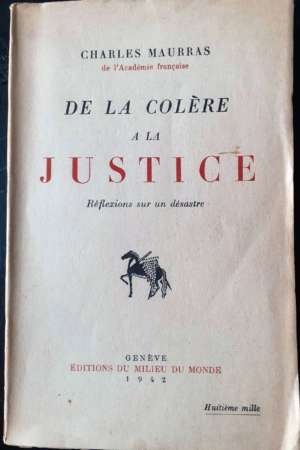 De la Colère à la Justice