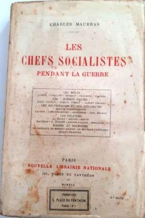 Les Chefs Socialistes pendant la guerre