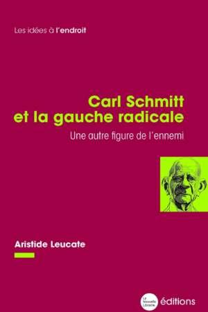 Carl Schmitt et la gauche radicale. Une autre figure de l'ennemi