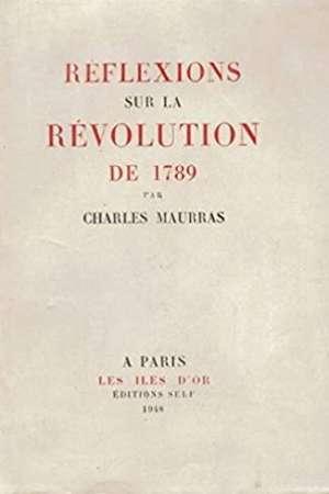 Réflexions sur la Révolution de 1789